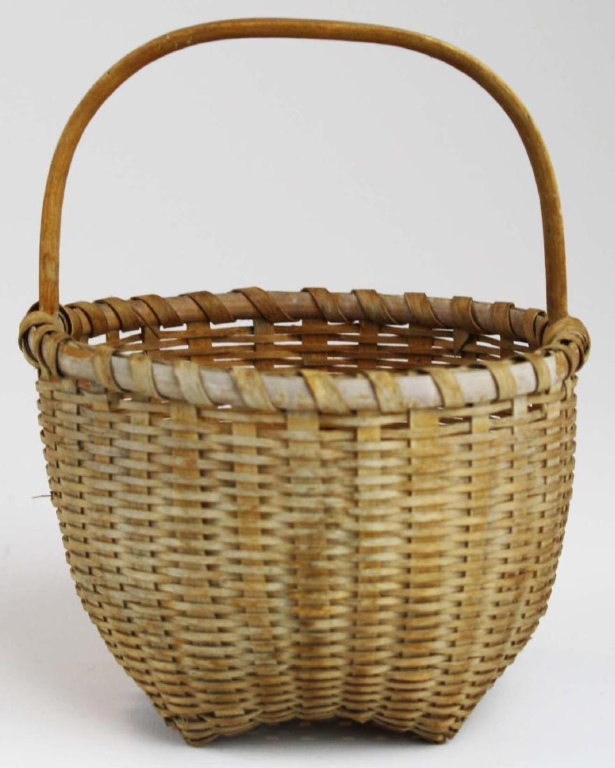 small Shaker cat's head basket