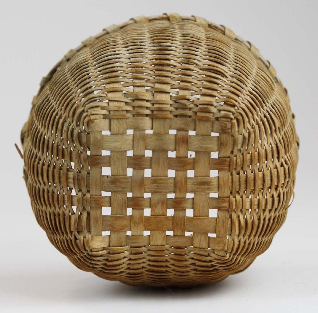 small Shaker cat's head basket - 3
