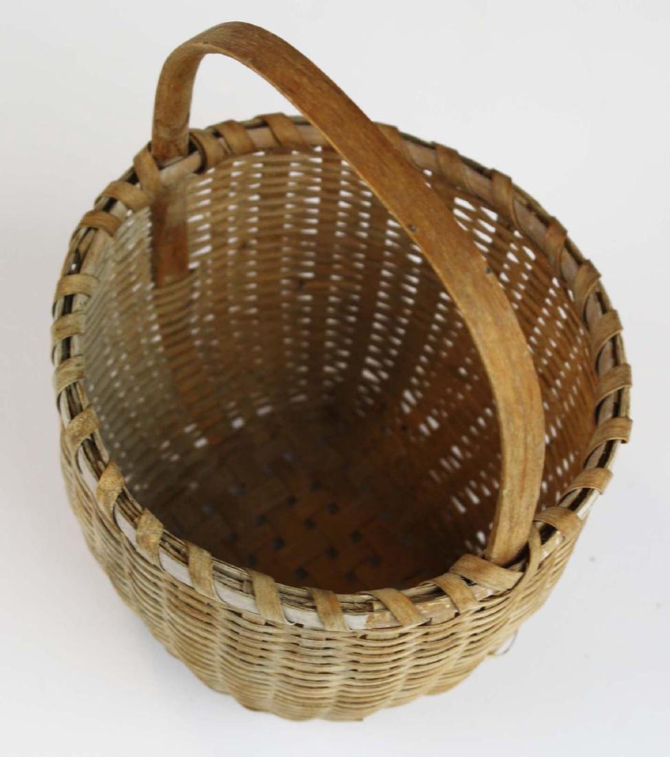 small Shaker cat's head basket - 4