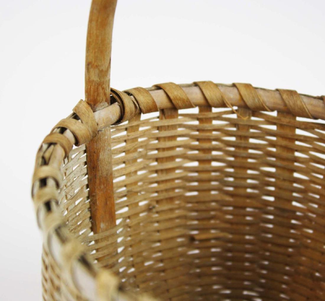 small Shaker cat's head basket - 5