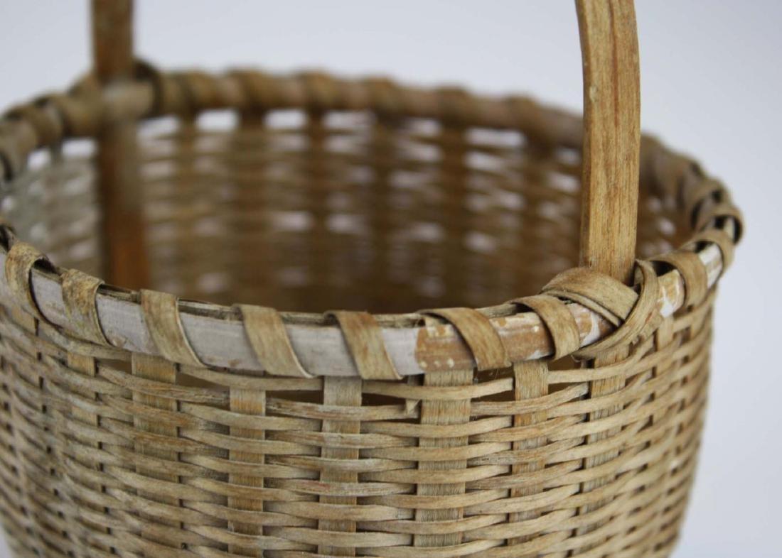 small Shaker cat's head basket - 6