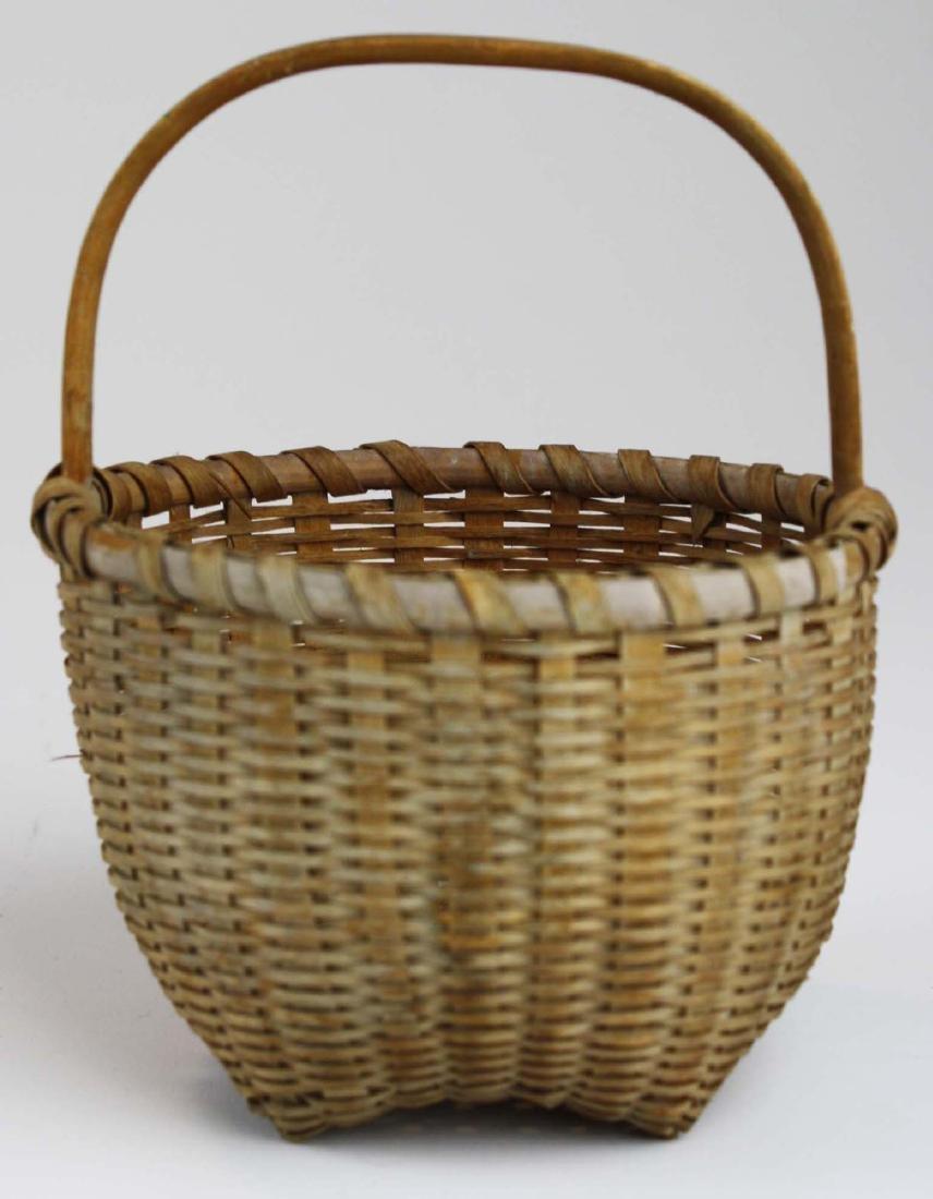 small Shaker cat's head basket - 7