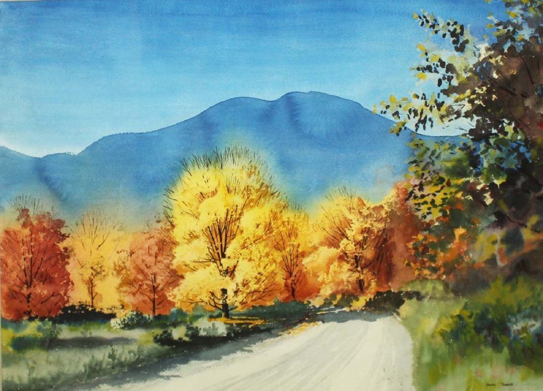 Walton Blodgett (VT 1908-1963) Autumn Road