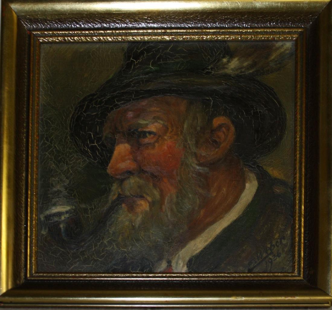 19th c German School portrait of a Gentleman
