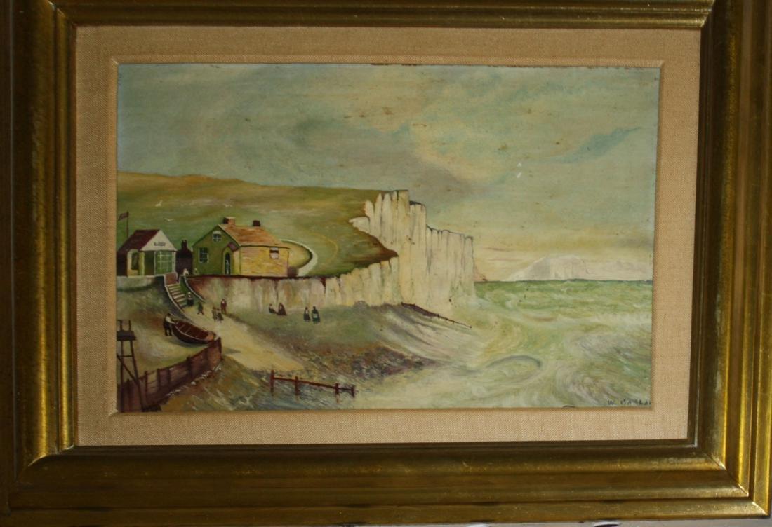 William Garland (UK -1882) The Cliffs