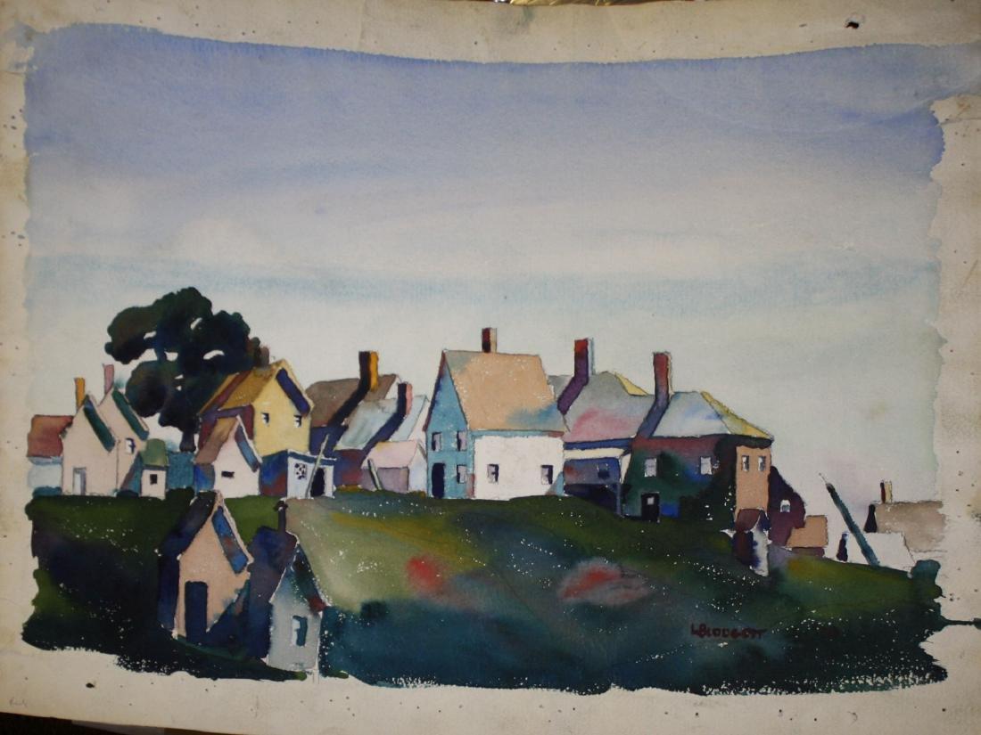 Walton Blodgett (VT 1908-1963) Cluster of Houses - 2