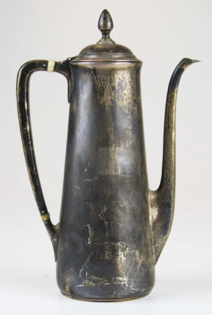Tiffany & Co. sterling silver demitasse pot