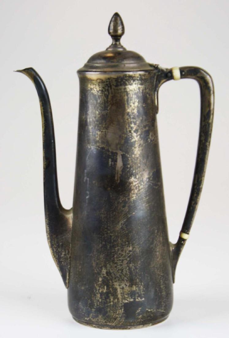 Tiffany & Co. sterling silver demitasse pot - 3