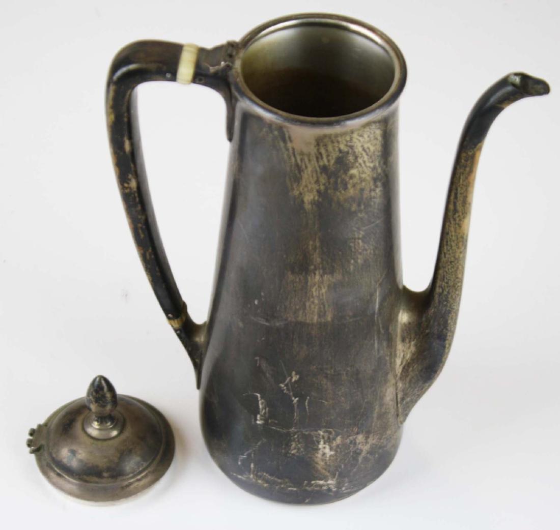 Tiffany & Co. sterling silver demitasse pot - 5