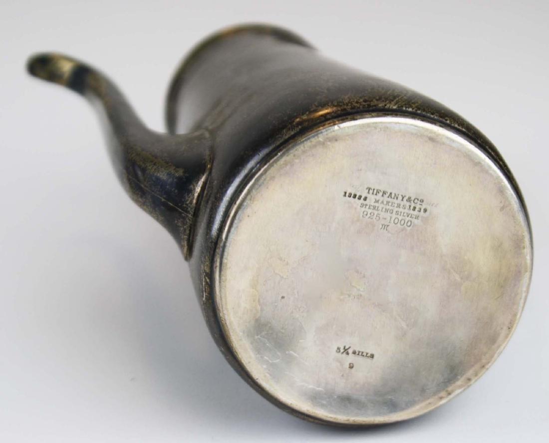 Tiffany & Co. sterling silver demitasse pot - 7