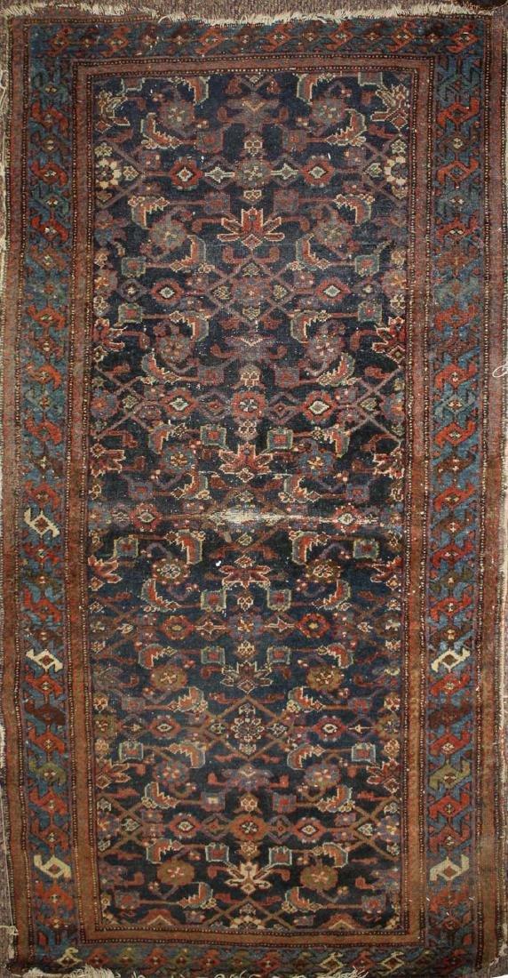 early 20th c Persian Hamadan area rug