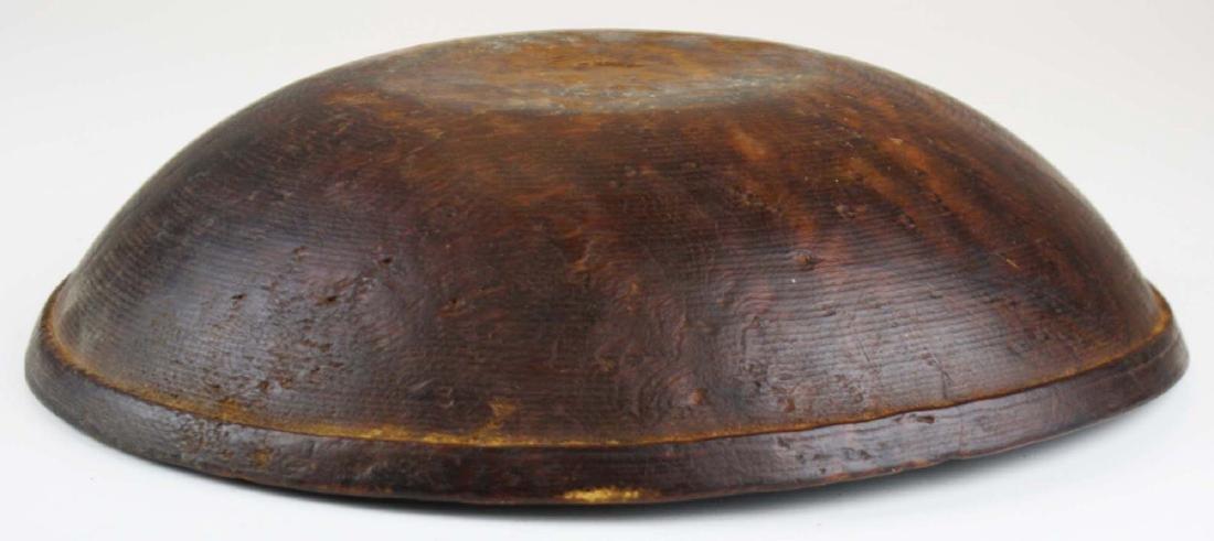 early 19th c birdseye maple turned bowl - 3