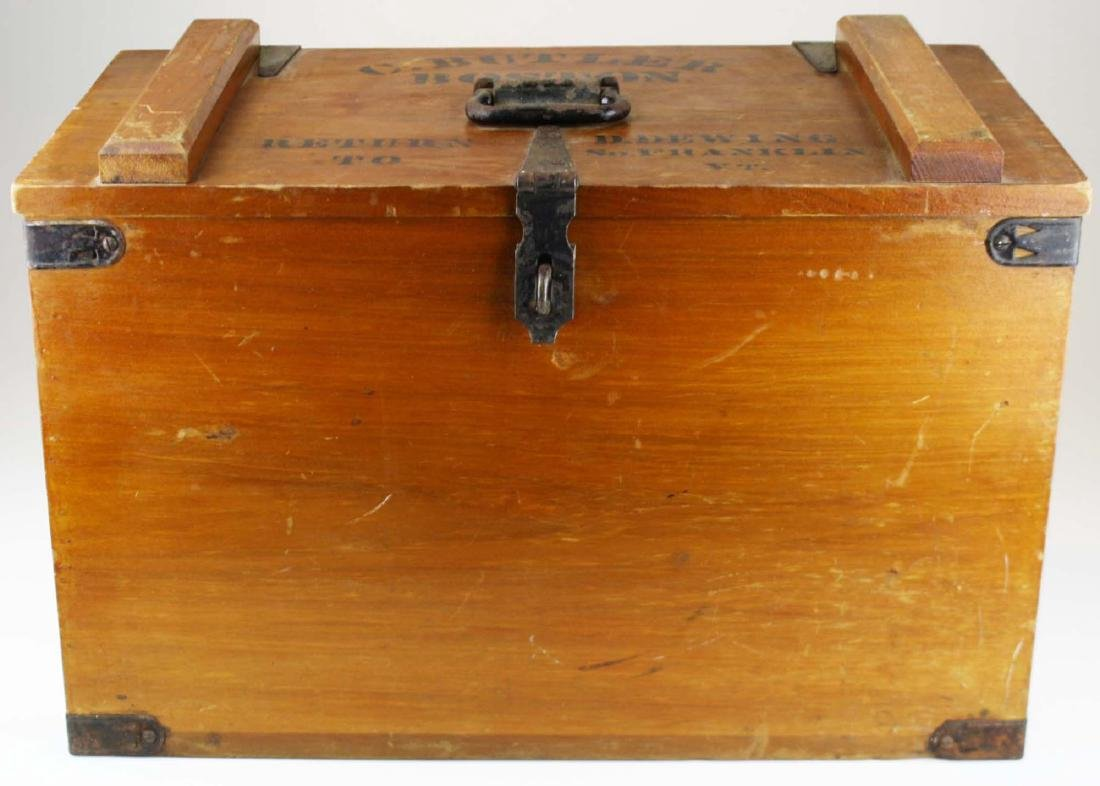 early 20th c Vermont butter shipping crate - 2