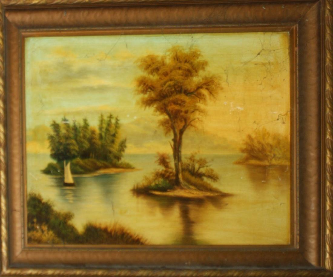 19th c primitive landscape