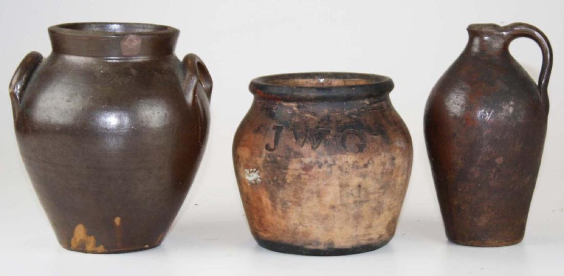 early 19th c pottery including Seymour, Rome