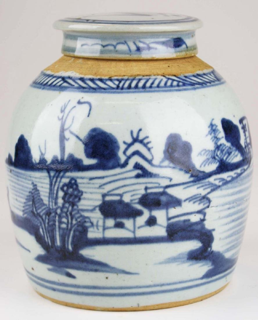 late 19th c Chinese Canton ginger jar