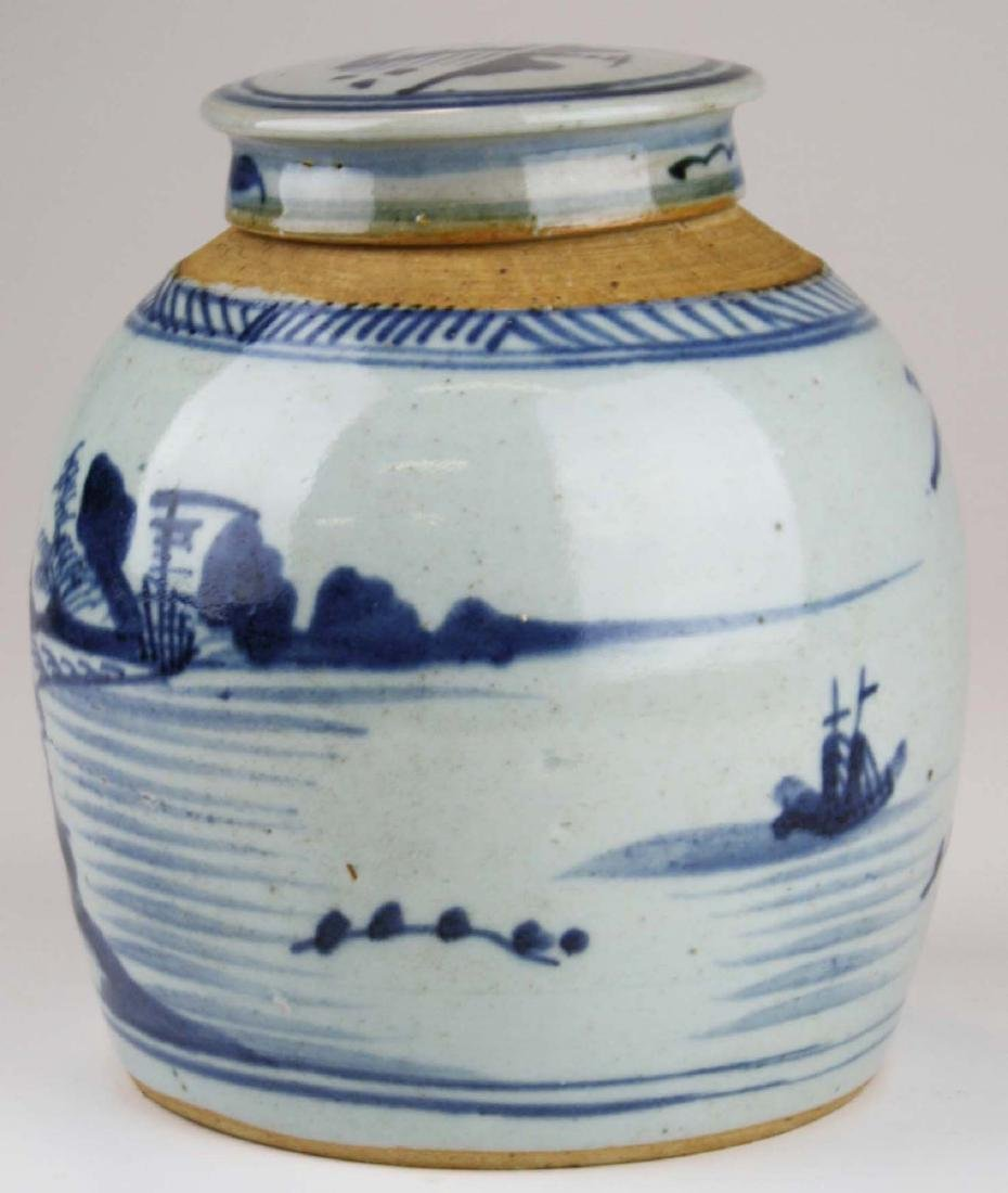 late 19th c Chinese Canton ginger jar - 2