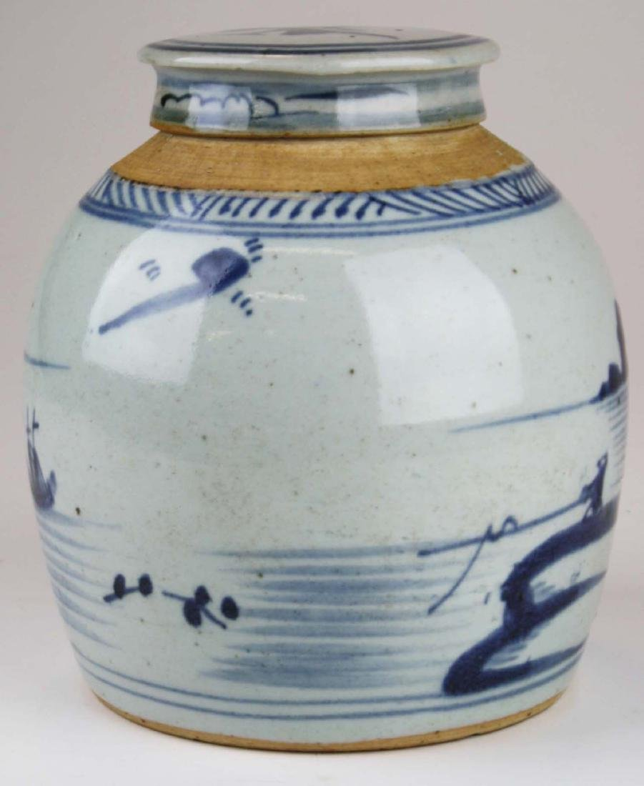 late 19th c Chinese Canton ginger jar - 3
