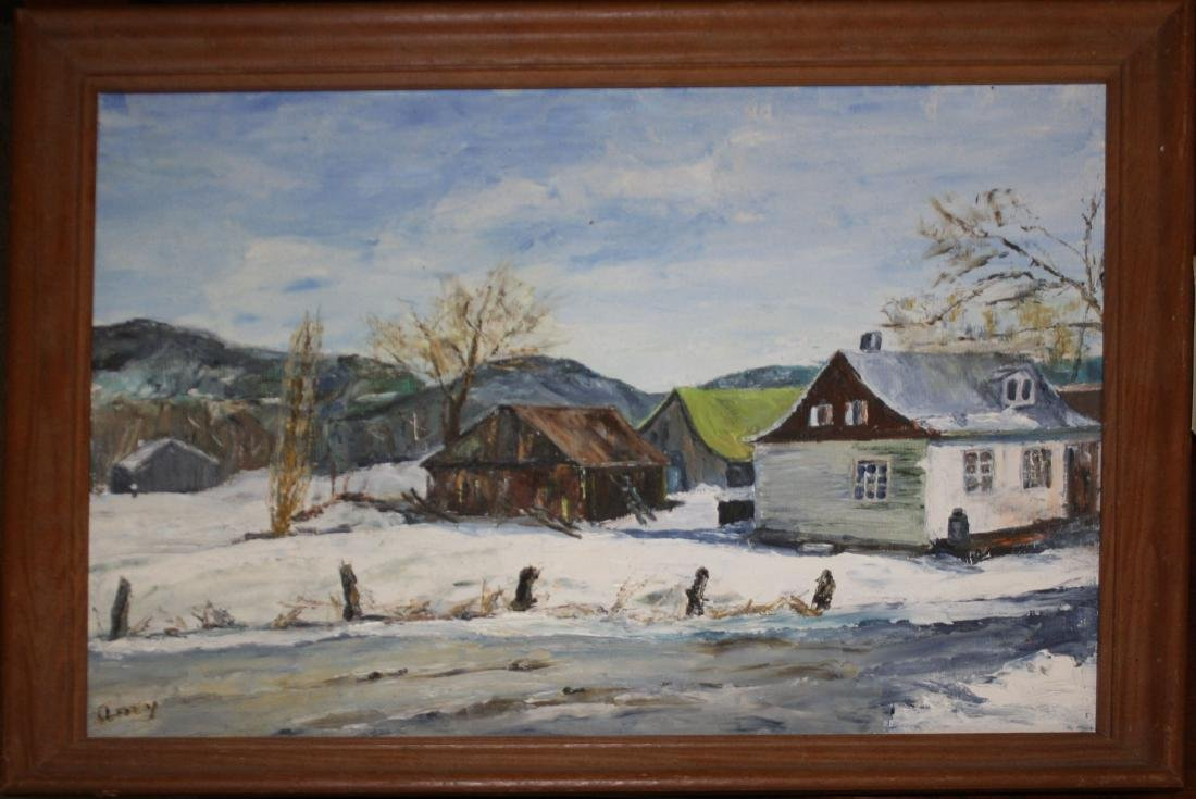 Amy Jensen (20thc) Farm at Peidmont PQ
