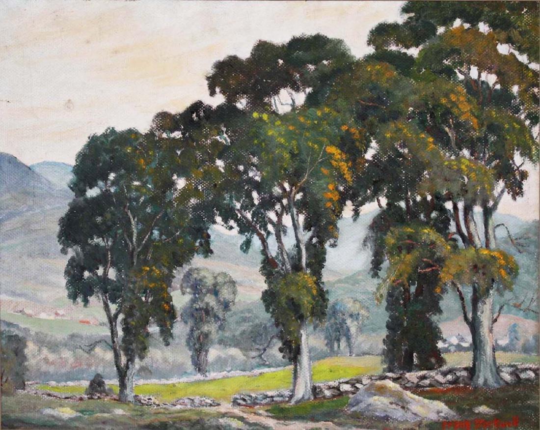 Frank Stockwell (VT 1890-1970) Summer landscape