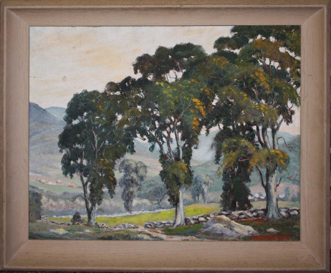 Frank Stockwell (VT 1890-1970) Summer landscape - 2