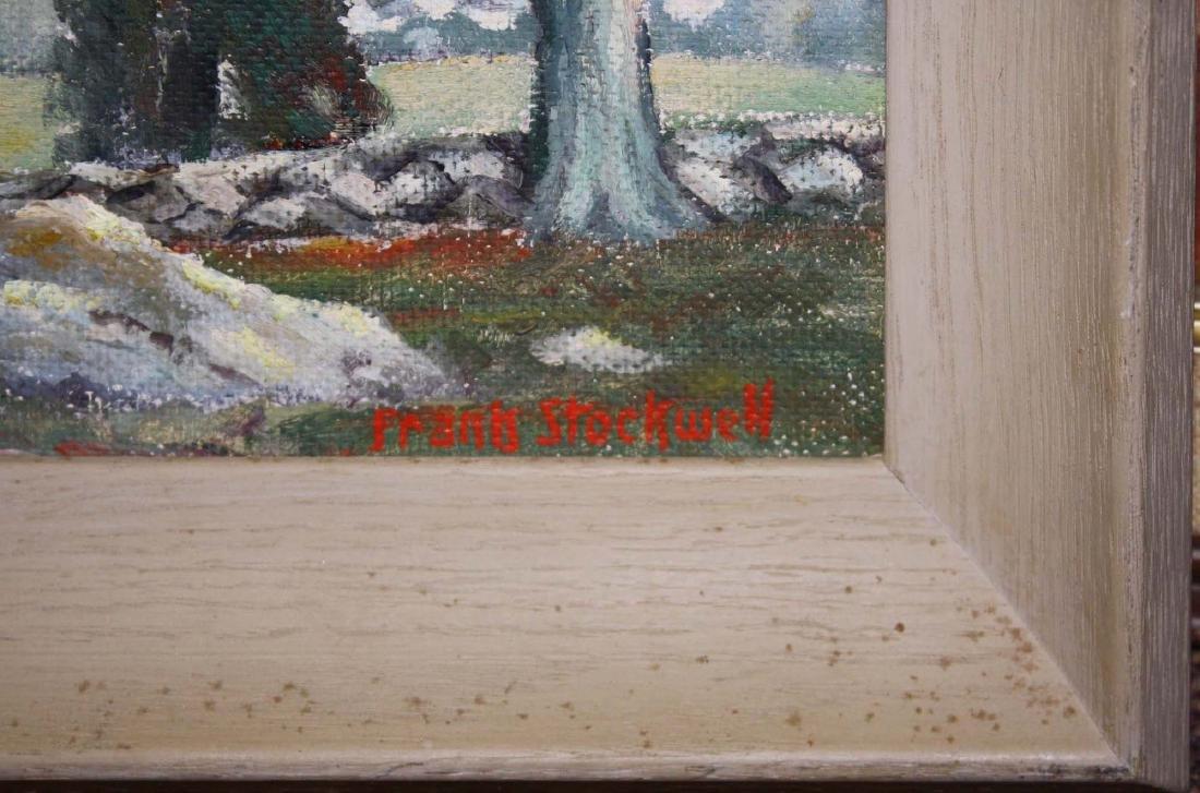Frank Stockwell (VT 1890-1970) Summer landscape - 3