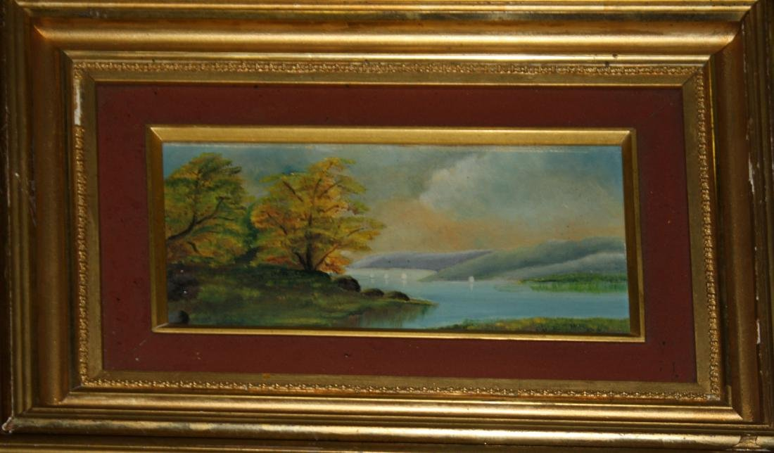 Pair of small Hudson River School Scenes - 2