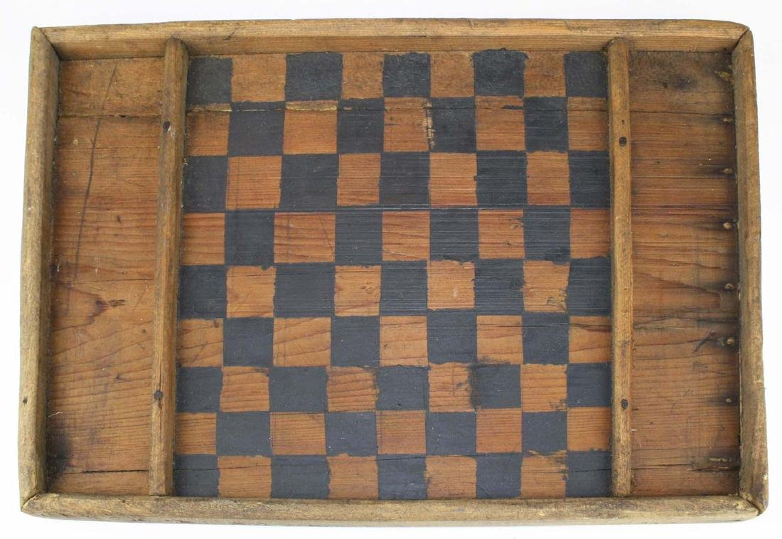 late 19th c Canadian gameboard