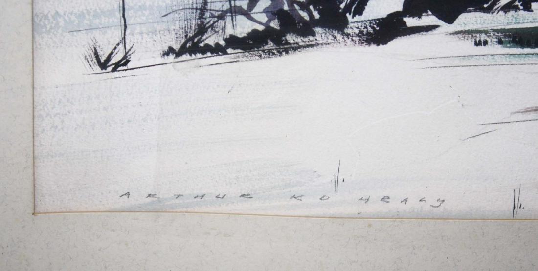 Arthur K D Healy (VT 1902-1978) Winter Road no. 2 - 2