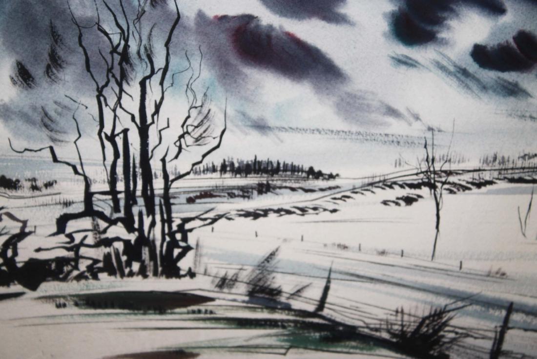 Arthur K D Healy (VT 1902-1978) Winter Road no. 2 - 3
