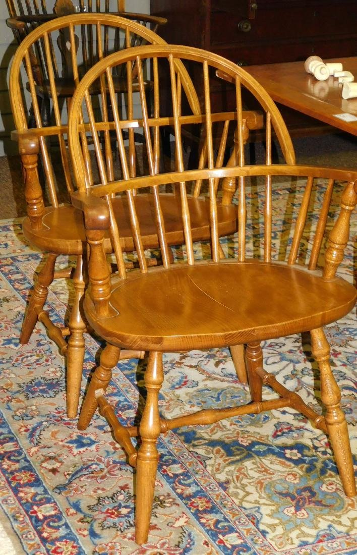 Set of four Windsor Chairs