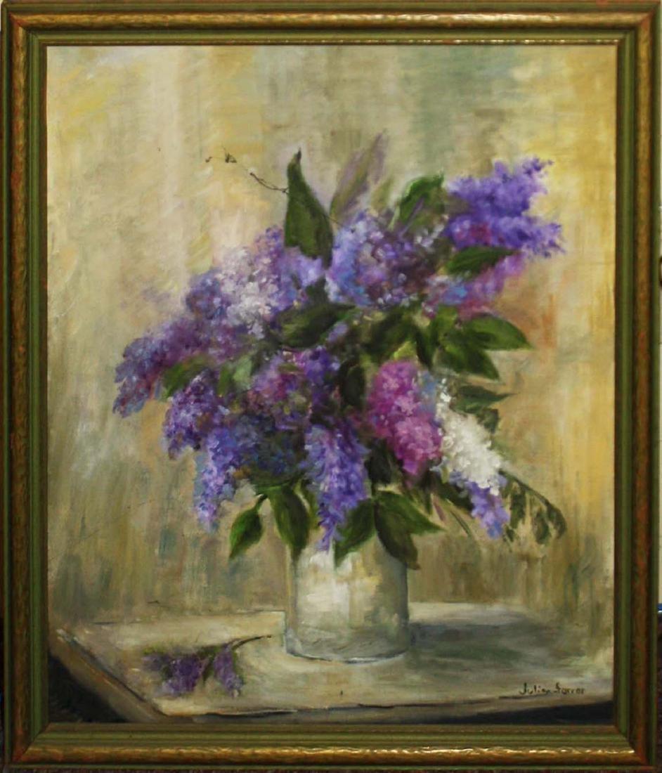 Julian Farrar (Am 20th c) Lilacs