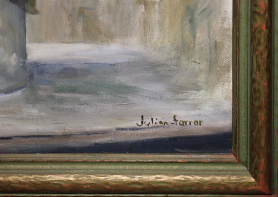 Julian Farrar (Am 20th c) Lilacs - 2