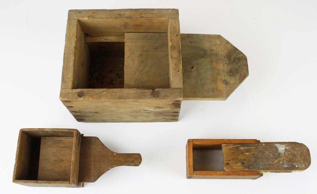 early 20th c mouse trap, bee boxes - 3