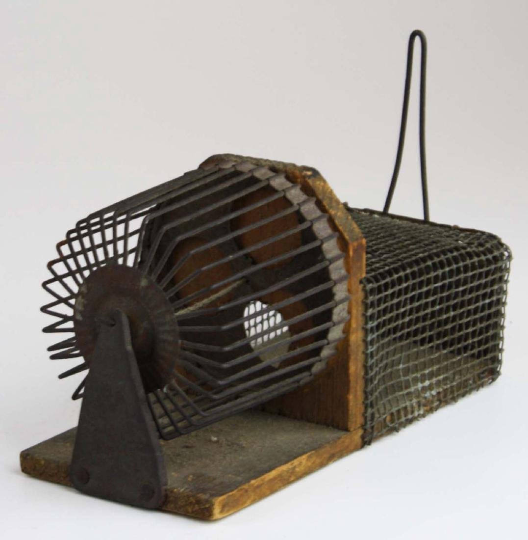 early 20th c mouse trap, bee boxes - 4