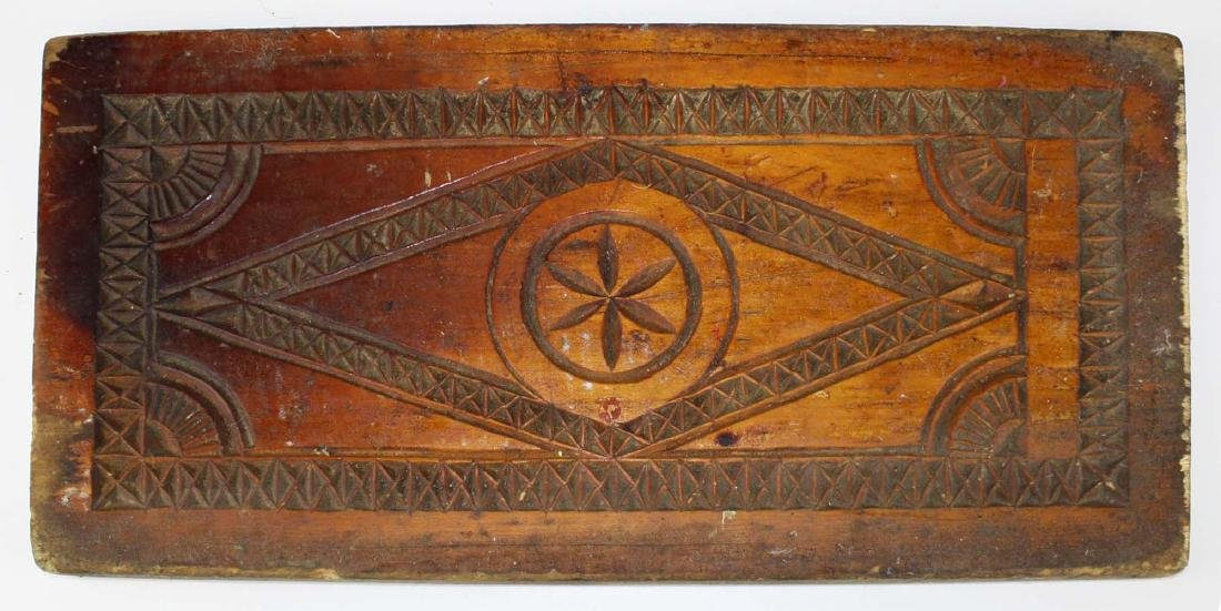 mid 19th c primative cake board/ cutting board