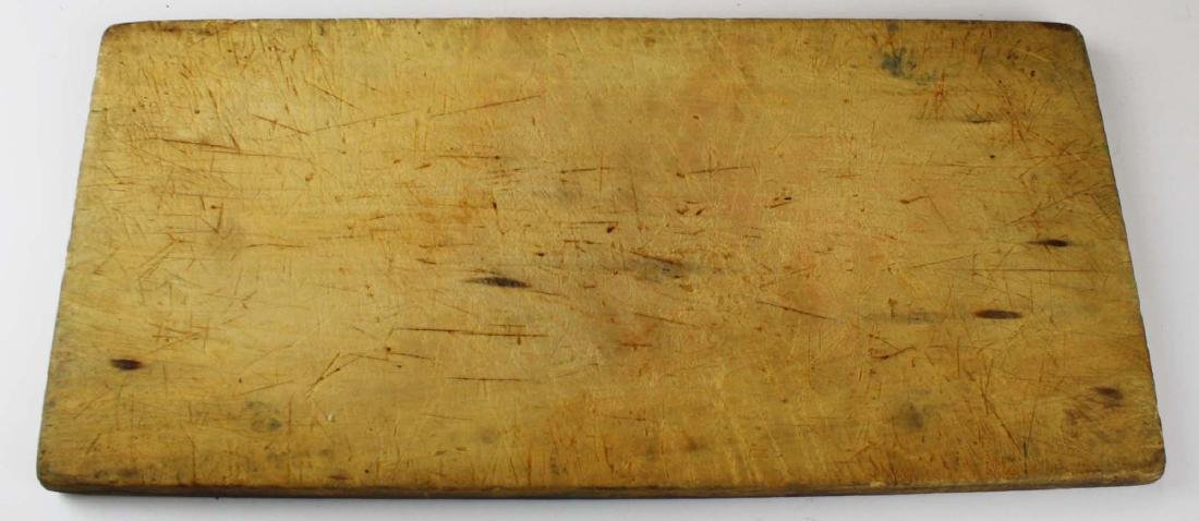 mid 19th c primative cake board/ cutting board - 2