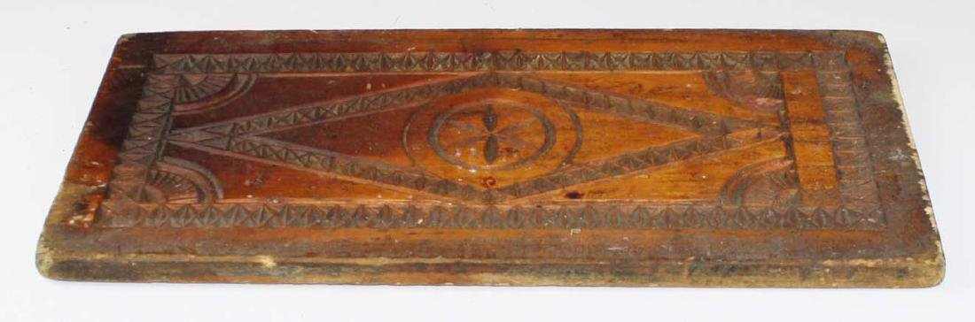 mid 19th c primative cake board/ cutting board - 3