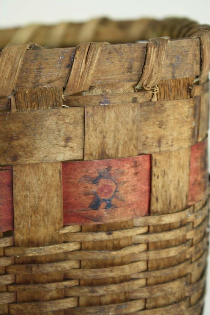 late 19th c Northeastern Woodlands basket - 3