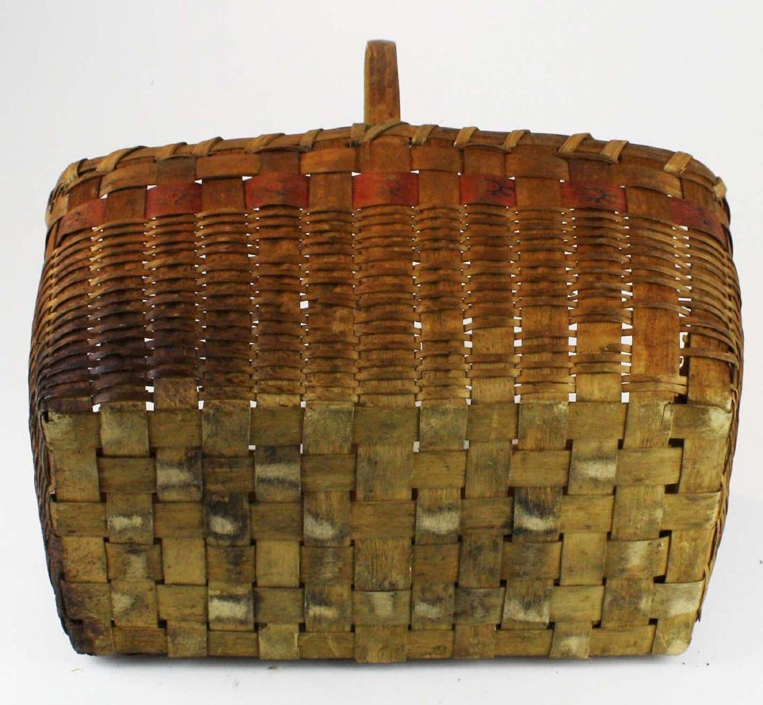 late 19th c Northeastern Woodlands basket - 5