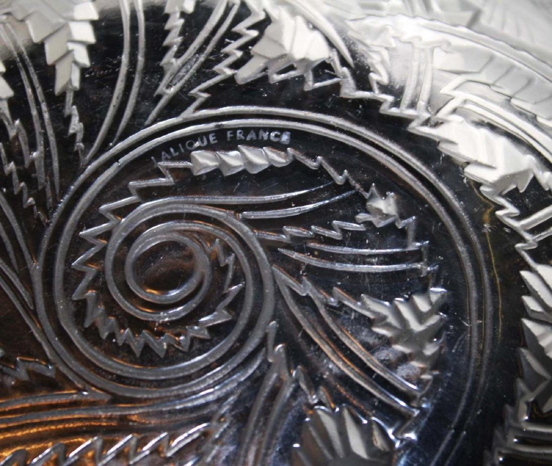 Lalique Pinsons Art Deco crystal bowl - 3