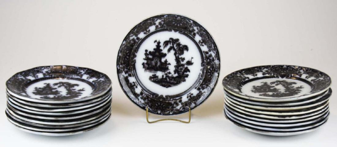 19 Mulberry Corean Ironstone luncheon plates