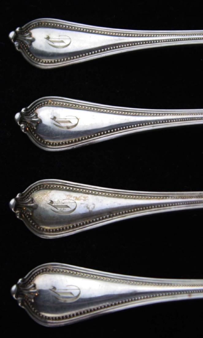 6 Towle Paul Revere sterling silver dinner forks - 3