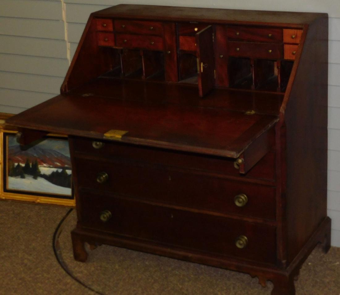 Mahogany Slantfront desk