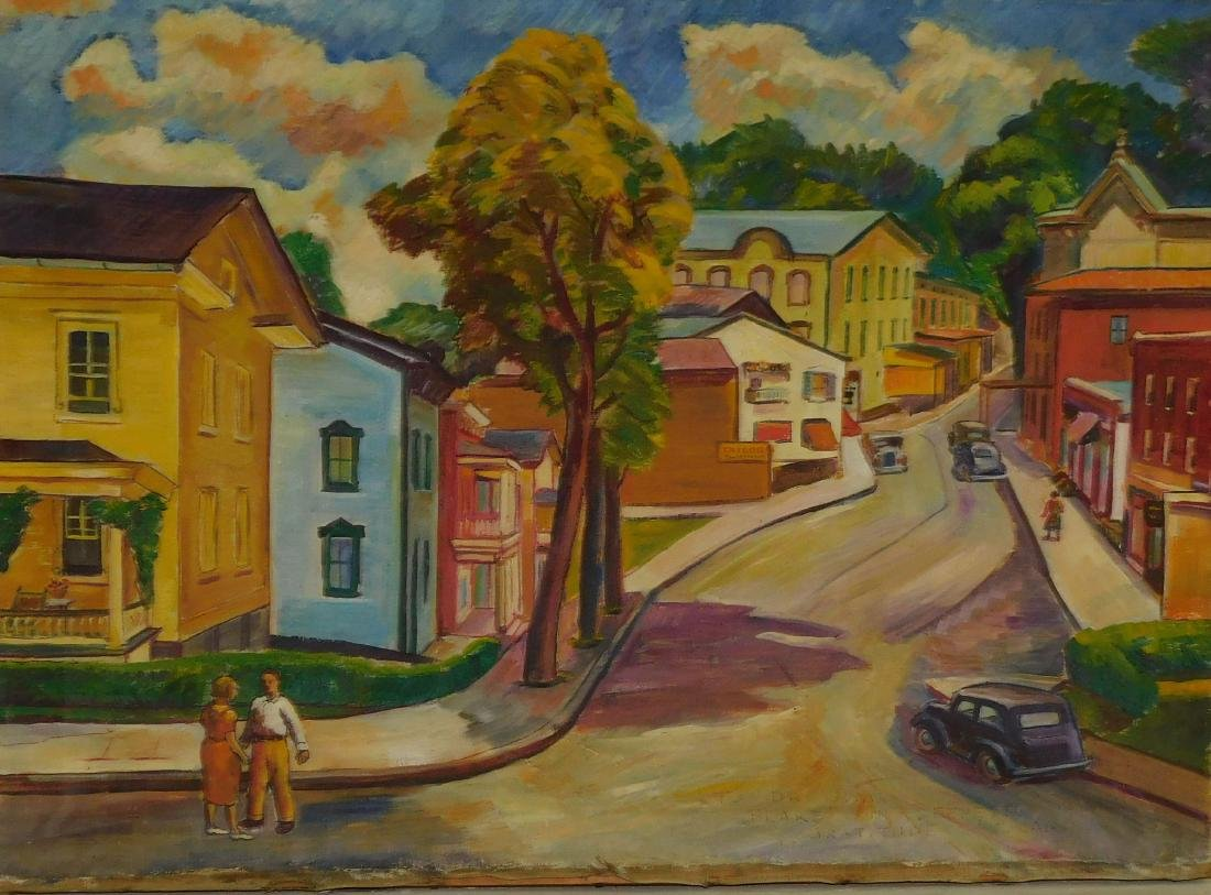 Vermont Town Landscape