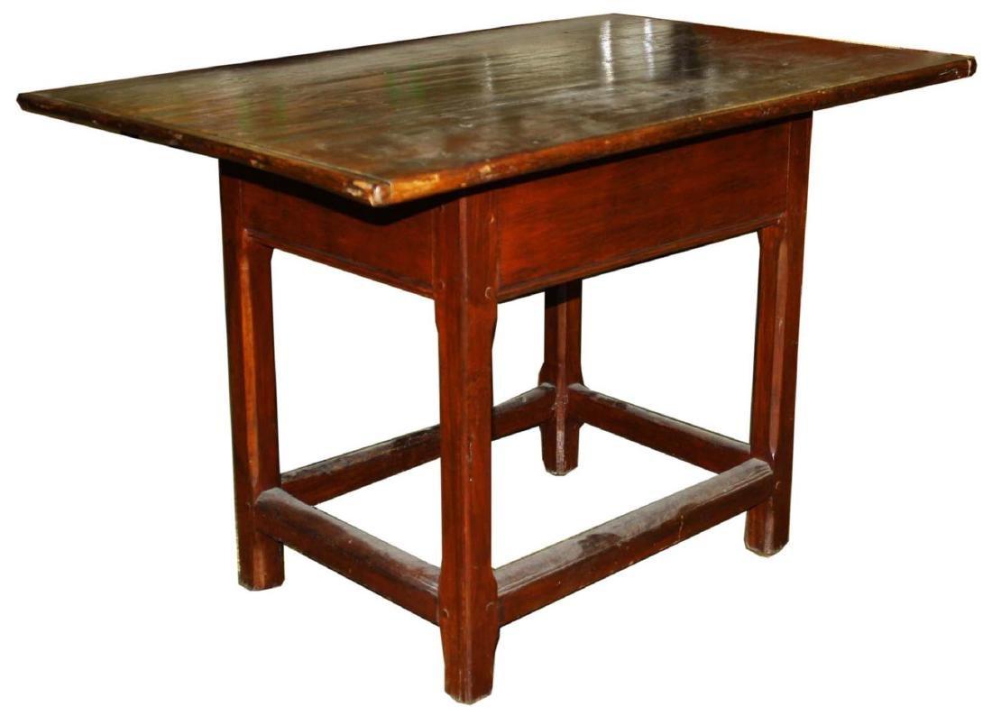 18th c pine tavern table