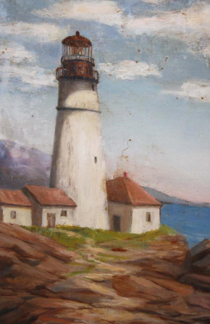 Katherine Worcester (VT 20thc) Lighthouse - 3