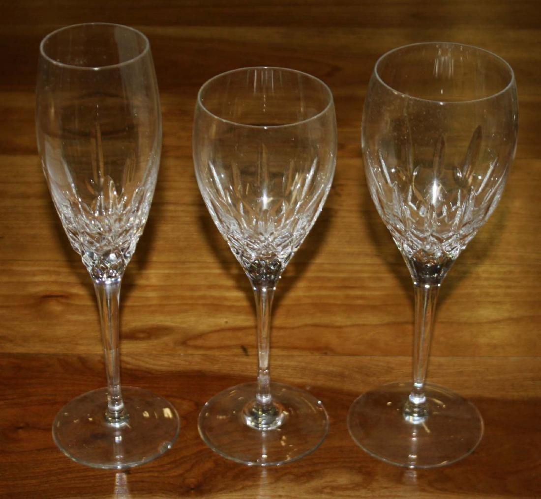 24 pcs Miller Rogaska crystal stemware