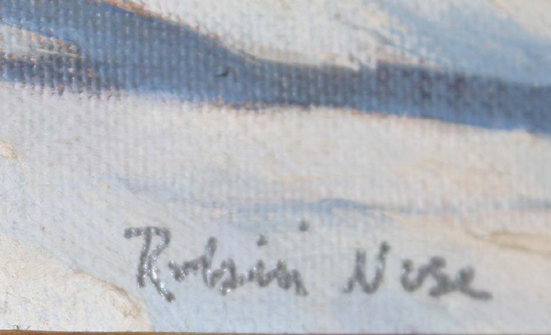 Robin Nuse (VT 20th c) Winter Stream - 2