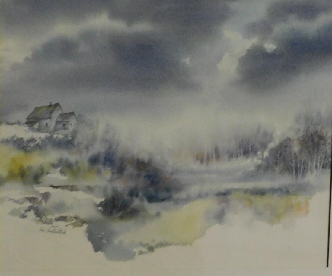 Sue Sweterlitsch (VT 20th c) Storm Clouds